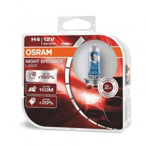 Osram Night Breaker Laser H4 +150% 2ks